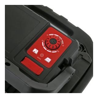 STIER Akku-COB-LED Baustrahler 4000 Lumen 40W mit integriertem Lautsprecher