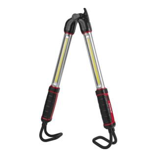 STIER Akku-COB-LED Stableuchte / Motorraumleuchte klappbar 1400 Lumen