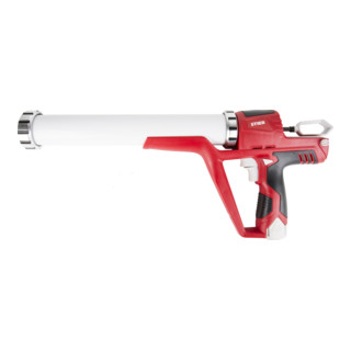STIER Akku-Kartuschenpistole Basic+ 3800N, inkl. 2 x Akku 12 V / 1,5 Ah + Ladegerät + 400ml Rohr