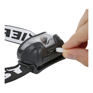 STIER Akku-LED-Stirnlampe 120 Lumen