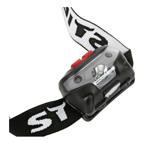 STIER Akku-LED-Stirnlampe 120 Lumen mit Smart-Sensor