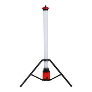 STIER Akku-SMD-LED-Tower-Baustrahler 360° 3500 Lumen 36 W