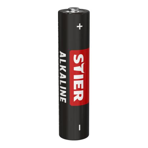 STIER Alkaline Batterie 40er Box Micro AAA LR03 1,5V