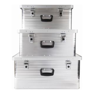 STIER Alubox-Set 47L + 80L + 130L