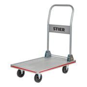 STIER Aluminium-Plattformwagen klappbar LxB 680x415