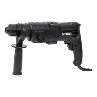 STIER Bohrhammer SHB-T-4900, 800 W, 3,3 J, 0-4900 Schläge/Min, SDS-Plus Aufnahme