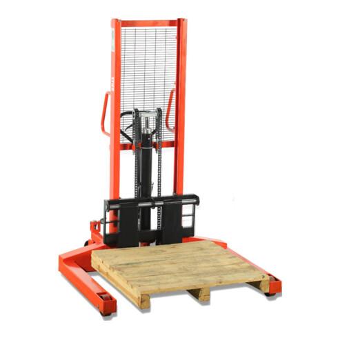 STIER Breitspur-Hydraulik-Stapler Tragkraft 1000kg Hubhöhe 1600mm