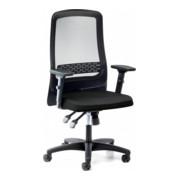 STIER Bürodrehstuhl ECP-8 mit Armlehne und Netz 1195x690x585mm
