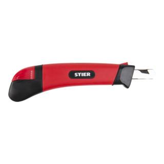 STIER Cuttermesser, Breite 9 mm mit Bleistiftanspitzer