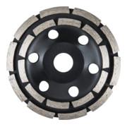 STIER Diamant-Schleiftopf doppelt Ø125mm Bohrung 22,23 mm Beton, Diamantschleifteller