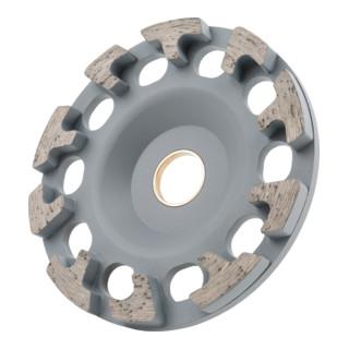 STIER Diamant-Schleiftopf Ø130mm Bohrung 25,0 / 22,23 mm Beton/Universal, Diamantschleifteller
