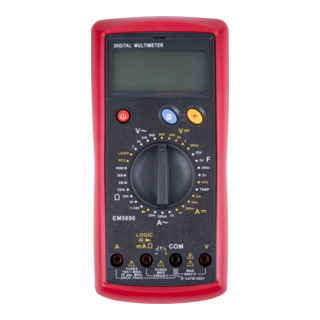 STIER Digital-Multimeter 2 - 600 V AC / 0,2 - 600 V DC CAT III 600 V