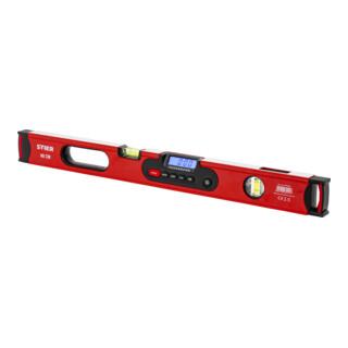 STIER Digitale Wasserwaage SDW-600 LCD-Display ±0,2° 60 cm