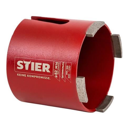 STIER Dosensenker-Satz M16 SDS-plus 82 mm