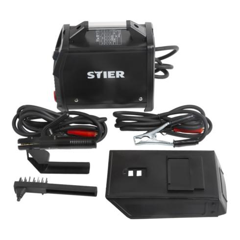 STIER Elektroden-Schweißgerät Inverter, 180 A, 230 V