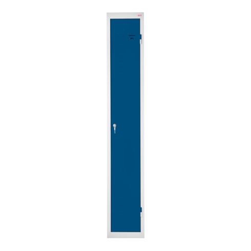 STIER Garderobenspind 1800x300x500mm enzianblau