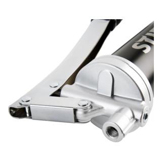 STIER Handhebel-Fettpresse mit Metallrohr