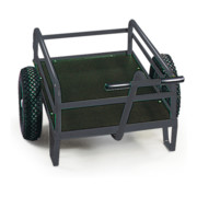 STIER Handwagen mit Seitenverstrebungen Tragkraft 400 kg LxB 1200x800 mm