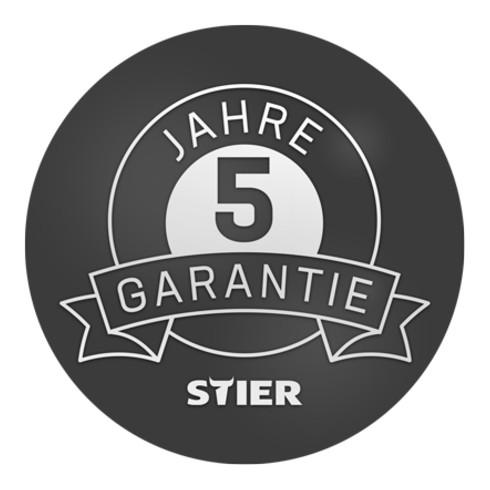 STIER Höhenverstellbare Werkbank Premium mit 2 Schubladen und 2 Flügeltüren BxTxH 2000x700x840-1040mm