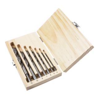 STIER Holzbohrer-Set 7-tlg. 4-12 mm