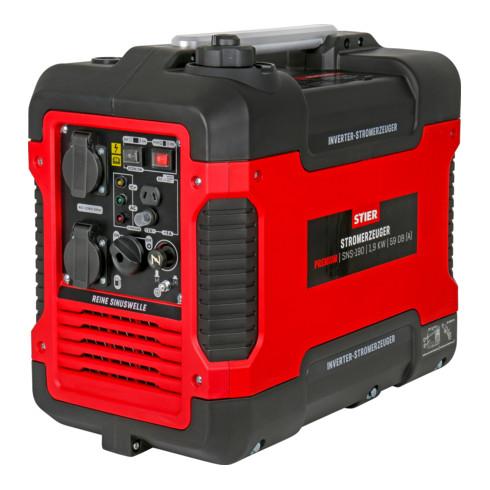 STIER Inverter Stromerzeuger Premium SNS-190 1,9 kW 59 dB(A)