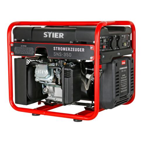 STIER Inverter Stromerzeuger SNS-350 3,5 kW 69 dB(A)