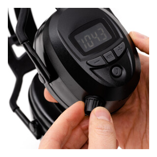 STIER Kapselgehörschutz FM Radio, Bluetooth, AUX