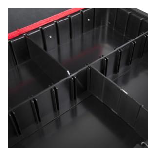 STIER Kunststoff-Fachtrenner-Set 4tlg für STIER Werkzeugkoffer Basic leer