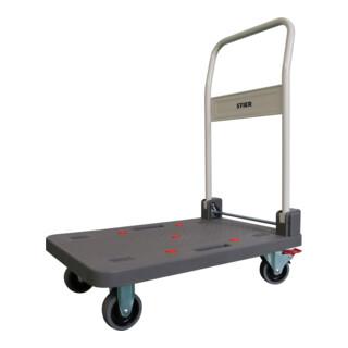STIER Kunststoff-Plattformwagen Tragkraft 150kg