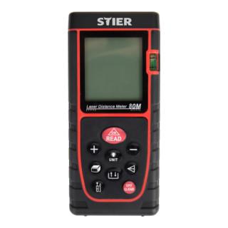 STIER Laser-Entfernungsmesser Profi+ 80 m