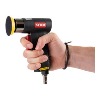 STIER Mini-Exzenterschleifer-Satz ME-26 Länge 100 mm 64-teilig