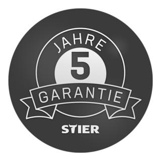 STIER Mobile Kastenwerkbank rot/anthrazitgrau 960 mm