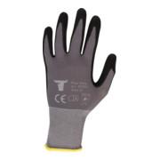 STIER Montagehandschuhe Flex Ultra nitrilbeschichtet grau/schwarz Größe 11