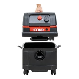 STIER Nass-Trockensauger ANT-25L Premium 1400 W 25 l