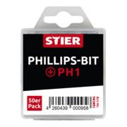 STIER Phillips-Bit-Großpackung PH