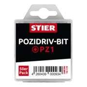 STIER Phillips-Bit-Großpackung PZ