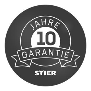 STIER Plattformwagen Premium mit Holz-Stirnwand
