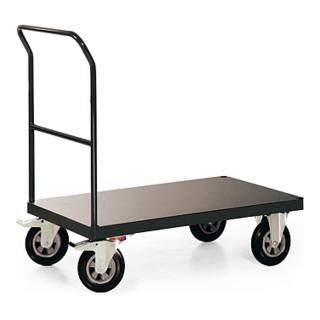 STIER Plattformwagen Premium mit Schiebebügel Tragkraft 400 kg