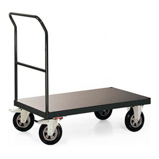 STIER Plattformwagen Profi mit Schiebebügel Tragkraft 500 kg