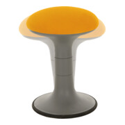 STIER Polsterhocker orange mit Schwingeffekt
