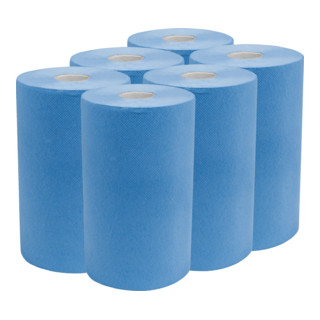 STIER Putzpapier-Rollen, 3-lagig, 30 cm Länge x 23 cm Breite