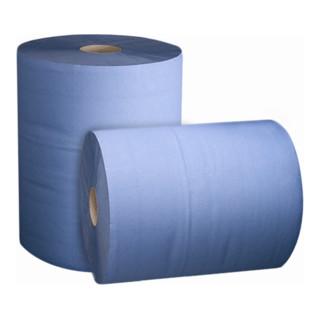 STIER Putzpapier-Rollen Basic 3-lagig (2 Rollen à 500 Blatt)