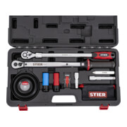 STIER Rad-Montage-Set 1/2 Zoll 40 - 200 Nm, 11-teilig