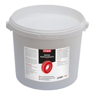 STIER Reifenmontagepaste weiß 5kg
