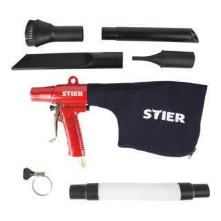 STIER Saug- & Blaspistolen-Set umschaltbar