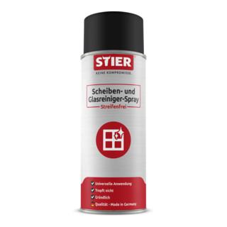 STIER Scheiben- und Glasreiniger-Spray streifenfrei 400 ml