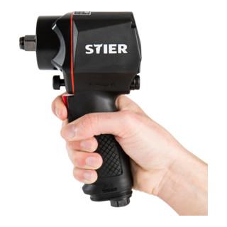 STIER Schlagschrauber 14-KBS 1/2'' Antrieb extra kurz max. Lösemoment: 1.400 Nm