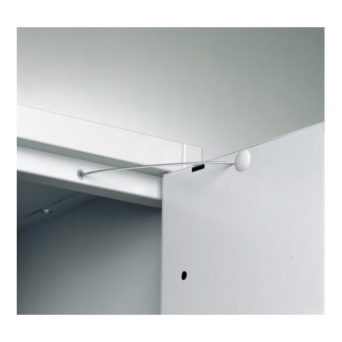 STIER Schließfachschrank mit 10 Fächern 1950x460x480mm