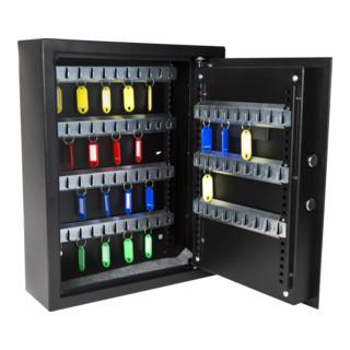 STIER Schlüsseltresor mit Elektronikschloss für 71 Schlüssel