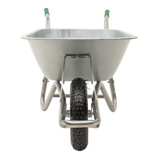 STIER Schubkarre 100l Inhalt 120kg Tragkraft mit Luftbereifung
